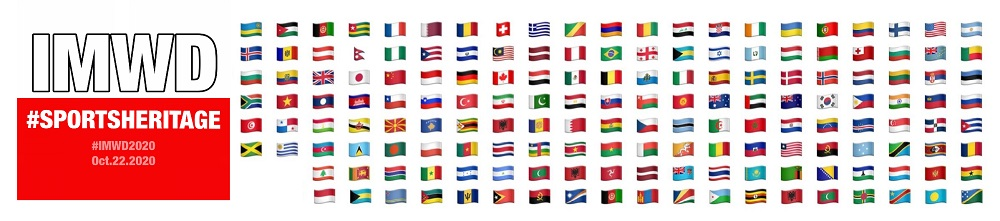 Flags of all the countries that have participated in IMWD 2015-2019